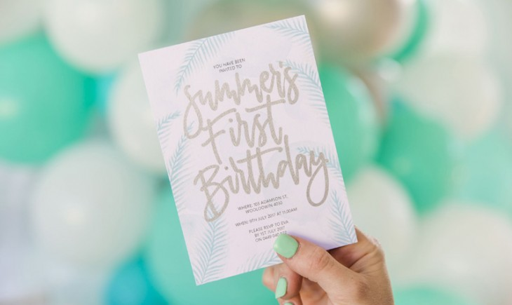 HOORAY_Playful-Bright-Stationery_3 - Pretty Palm Tree - Summers birthday on hooray